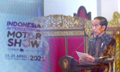 Jokowi: Industri Otomotif Sudah Bangkit Kembali