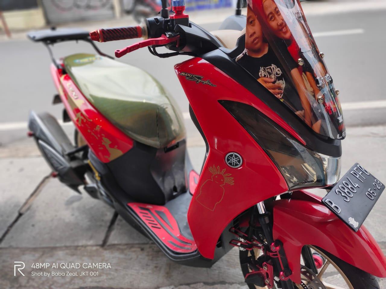 Yamaha Lexi Bore Up 155cc Terbukti Irit, 1 Liter BBM Tembus 62 KM